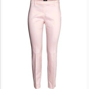 H&M pale pink pants